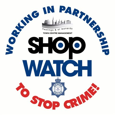 Hastings Town Centre Management Shopwatch Logo